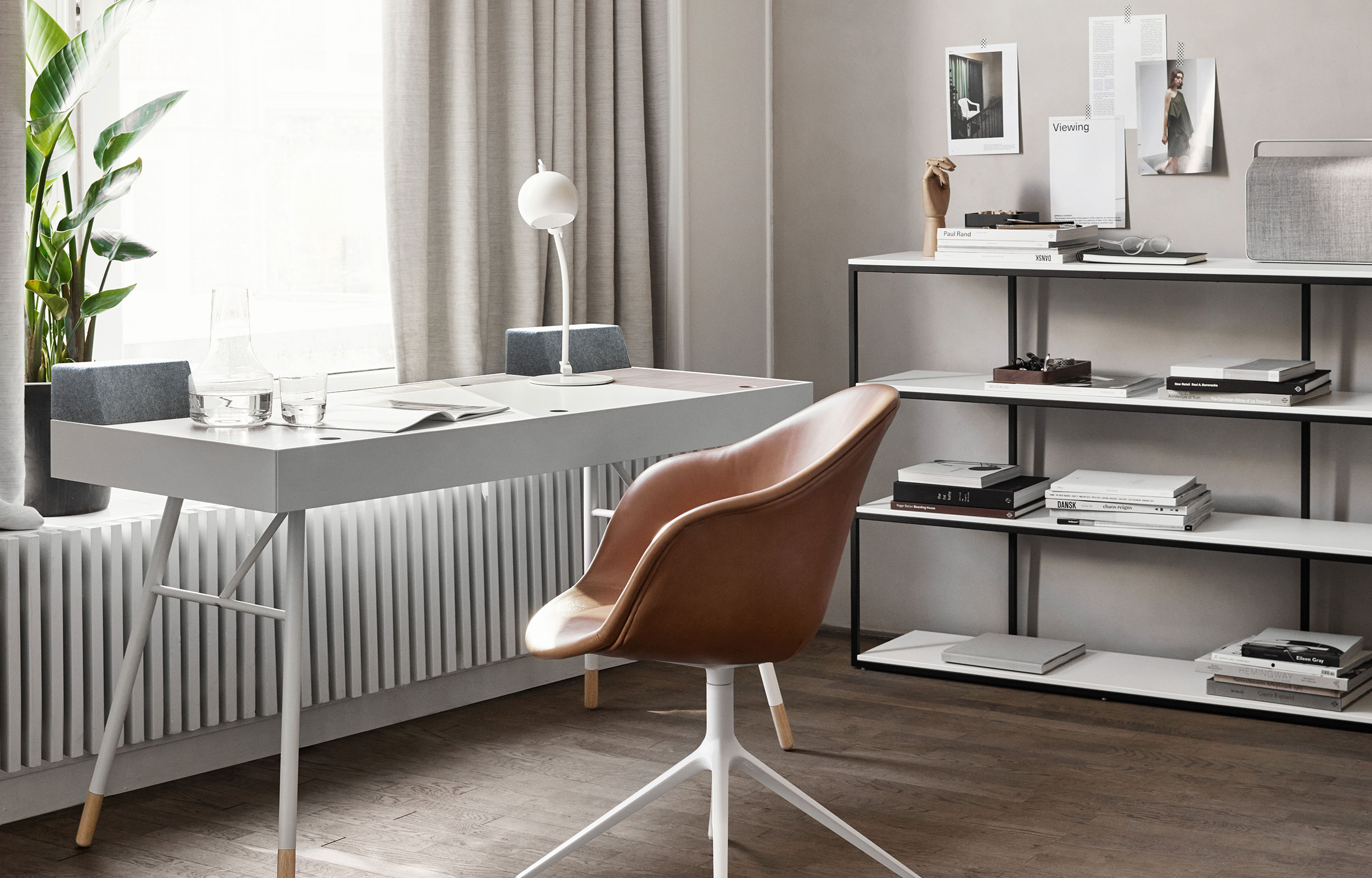 Cupertino desk and Adelaide chair