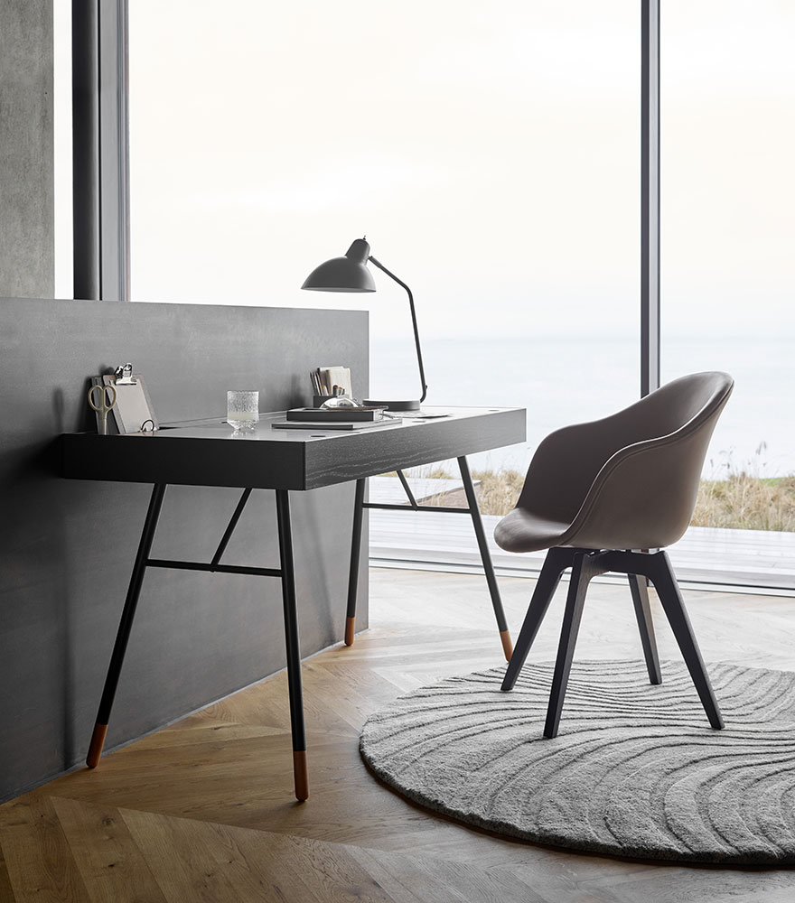 Cupertino desk and Adelaide dining chair