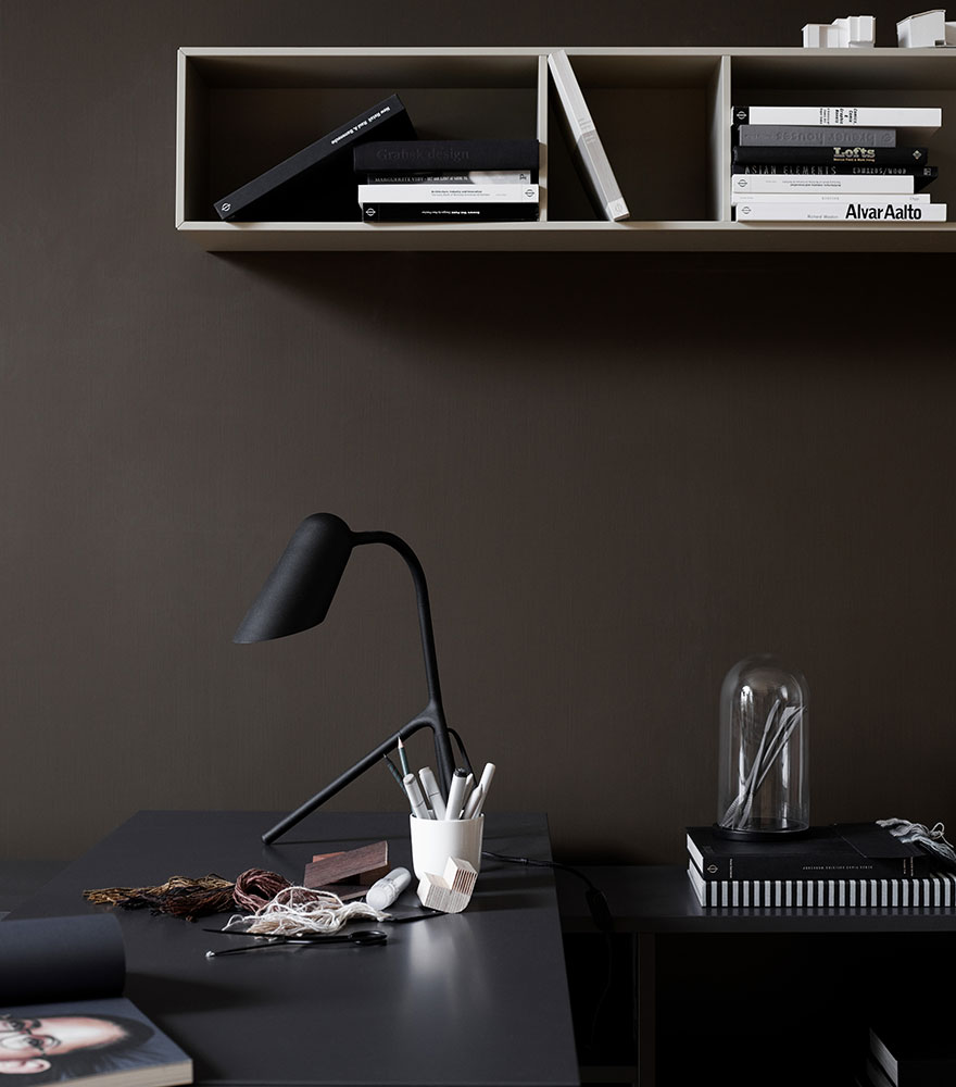 Black Curious table lamp