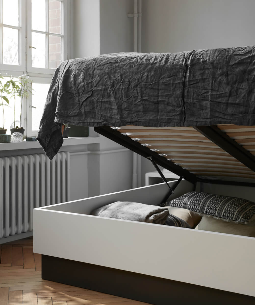 Lugano storage bed
