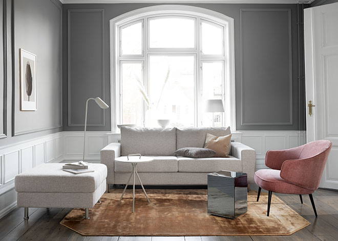 Scandi living room