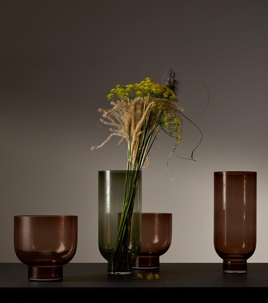 Different vases
