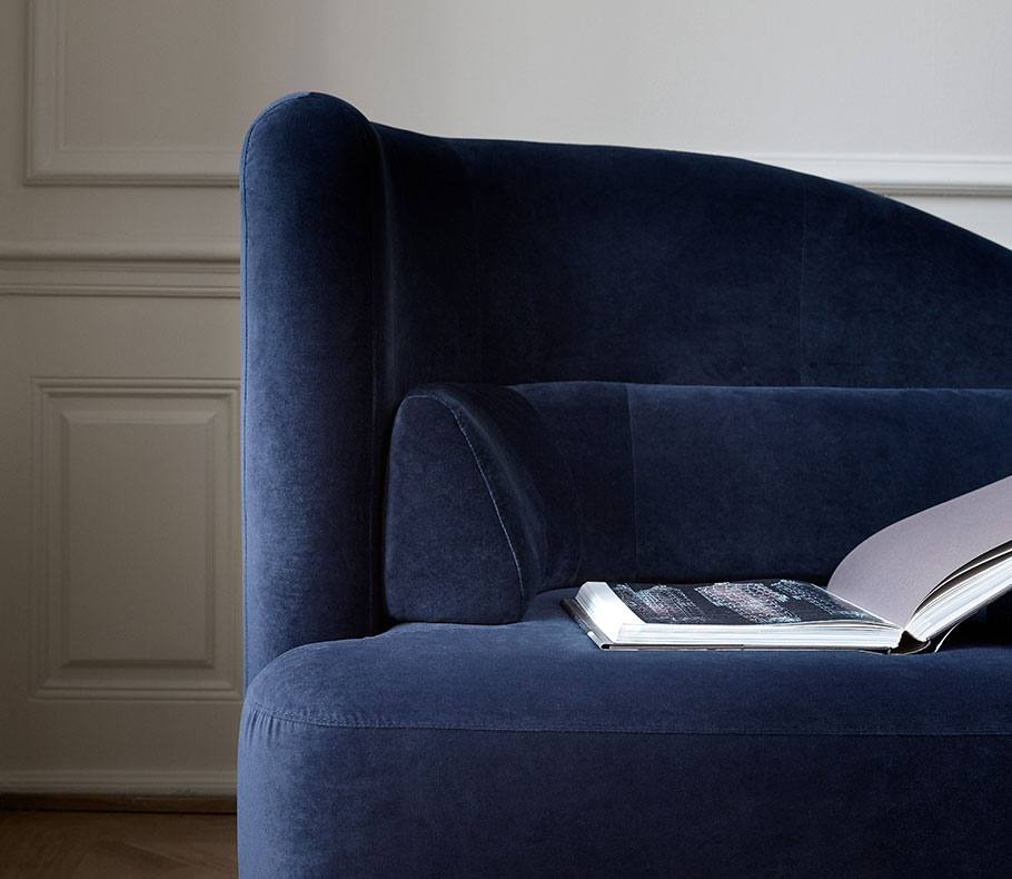 Dark blue Ottawa sofa