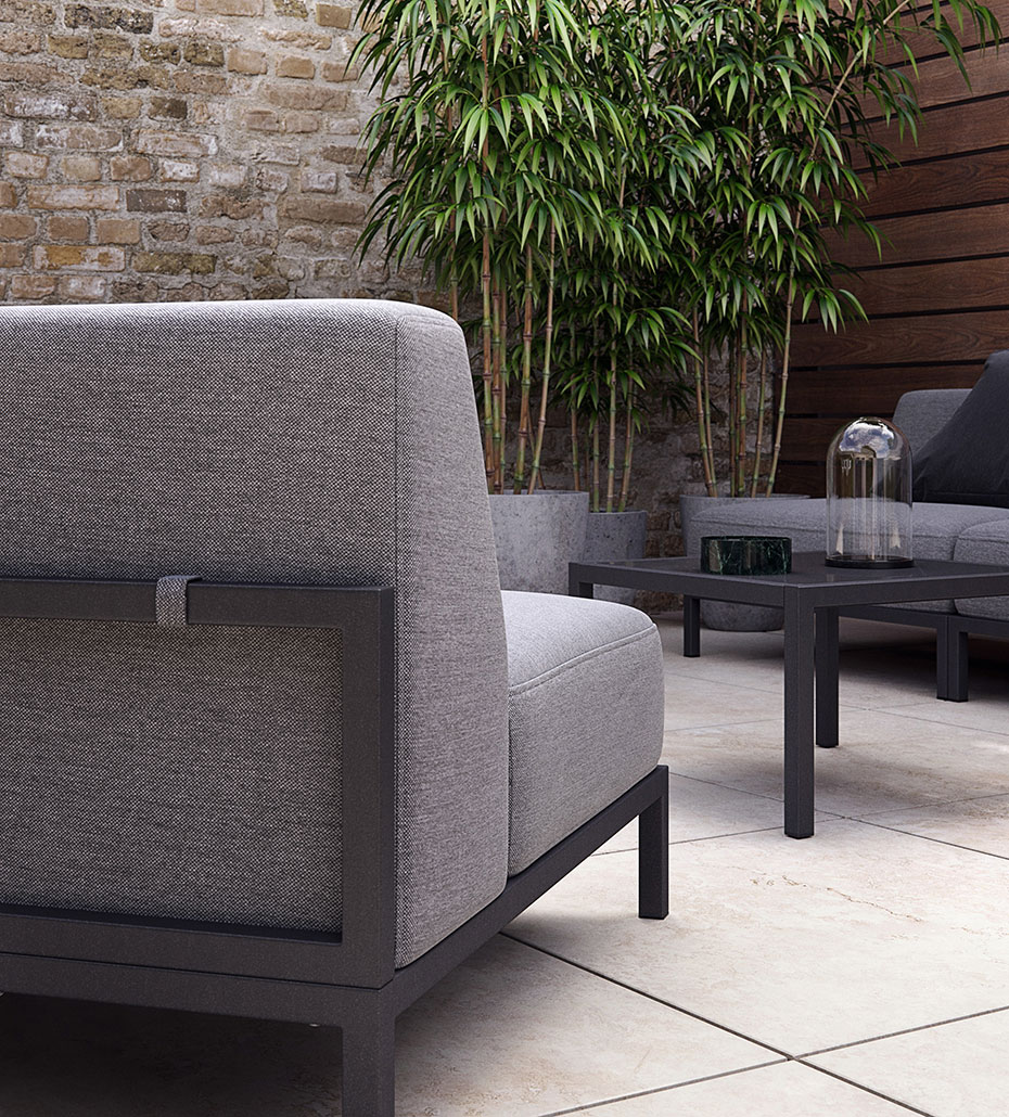 Outdoor furniture grey