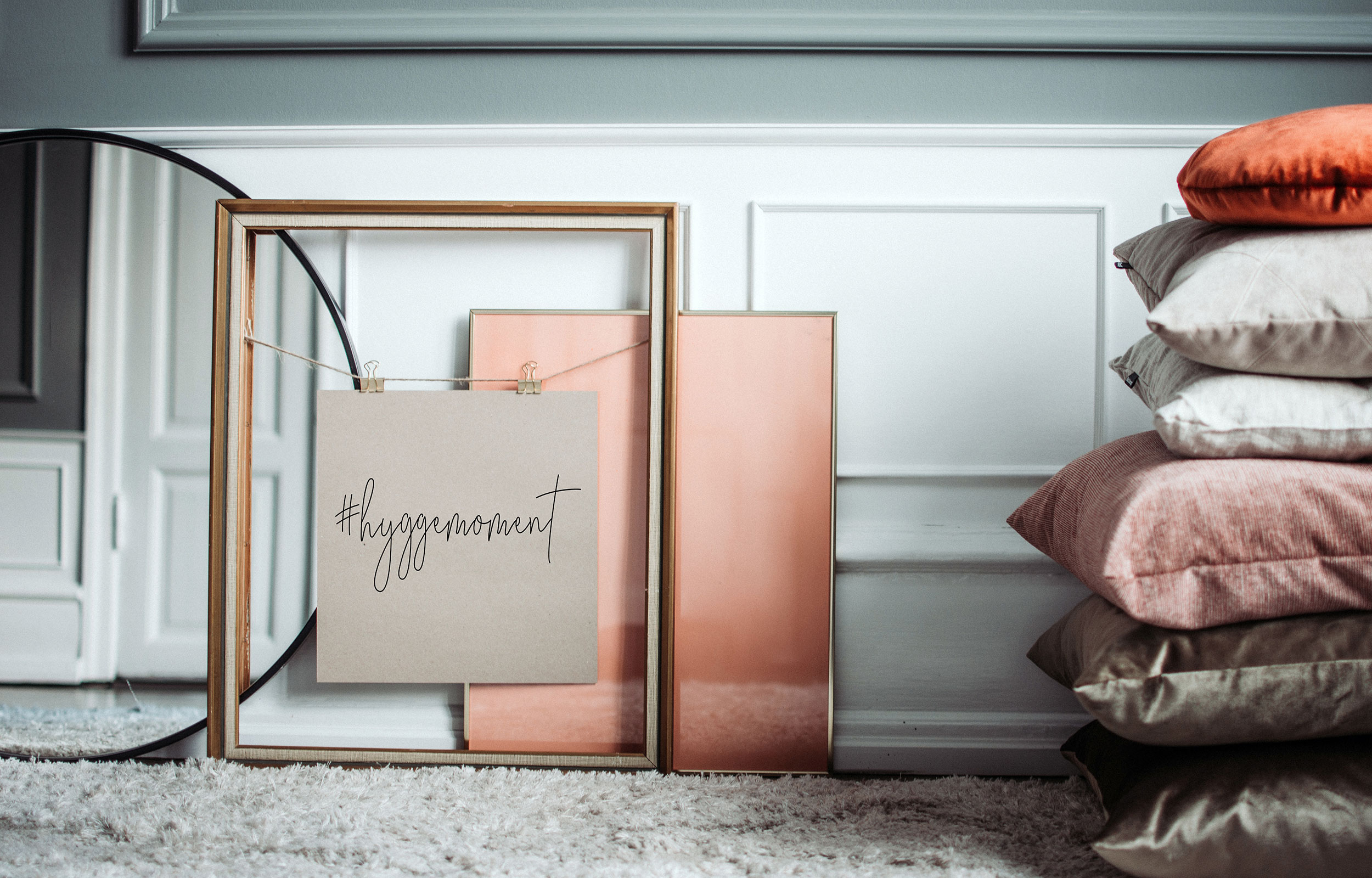 Ring mirror and frames