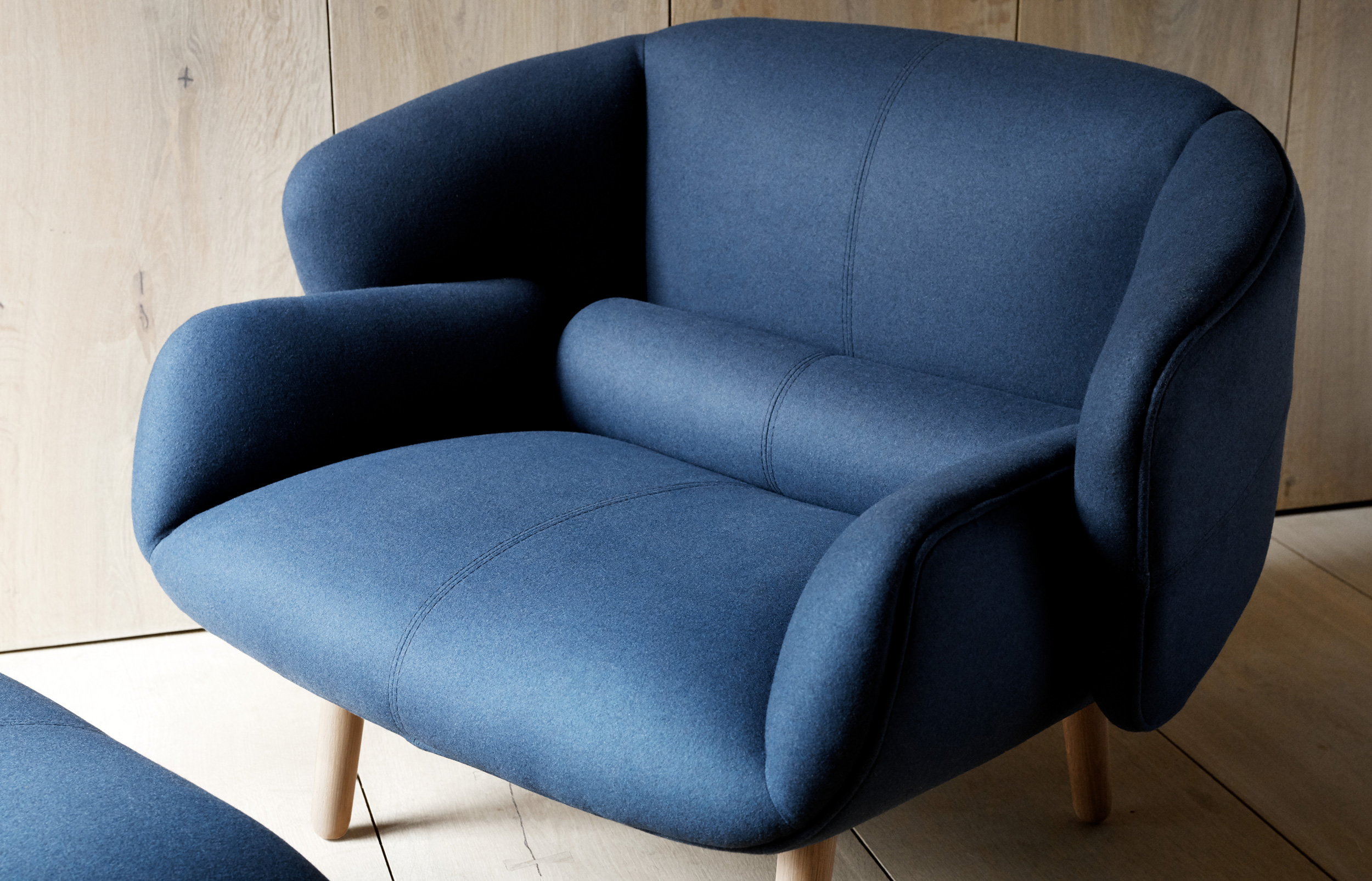 Blue Fusion chair