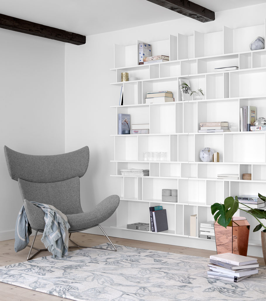 White and bright Scandinavian style