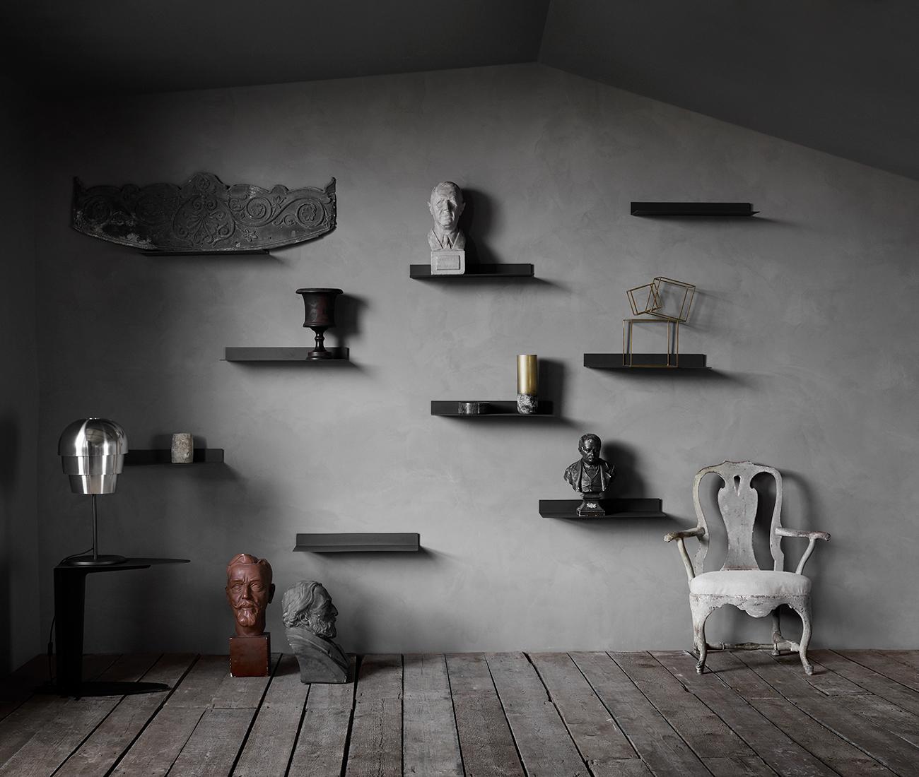 Black Como shelves inspiration