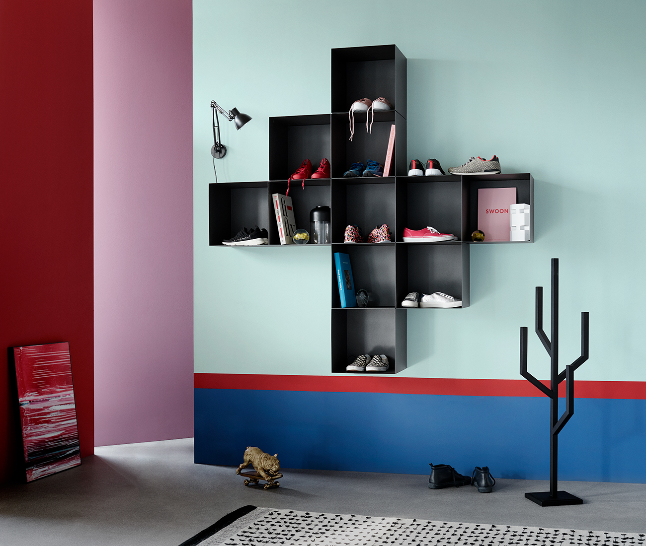 Black wall system inspiration