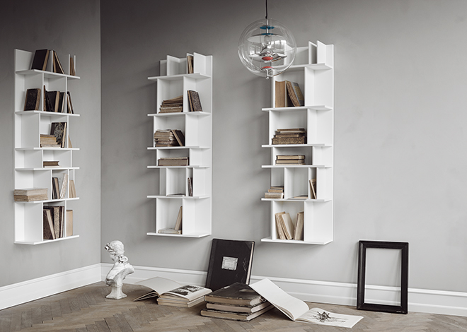 White Como wall system inspiration