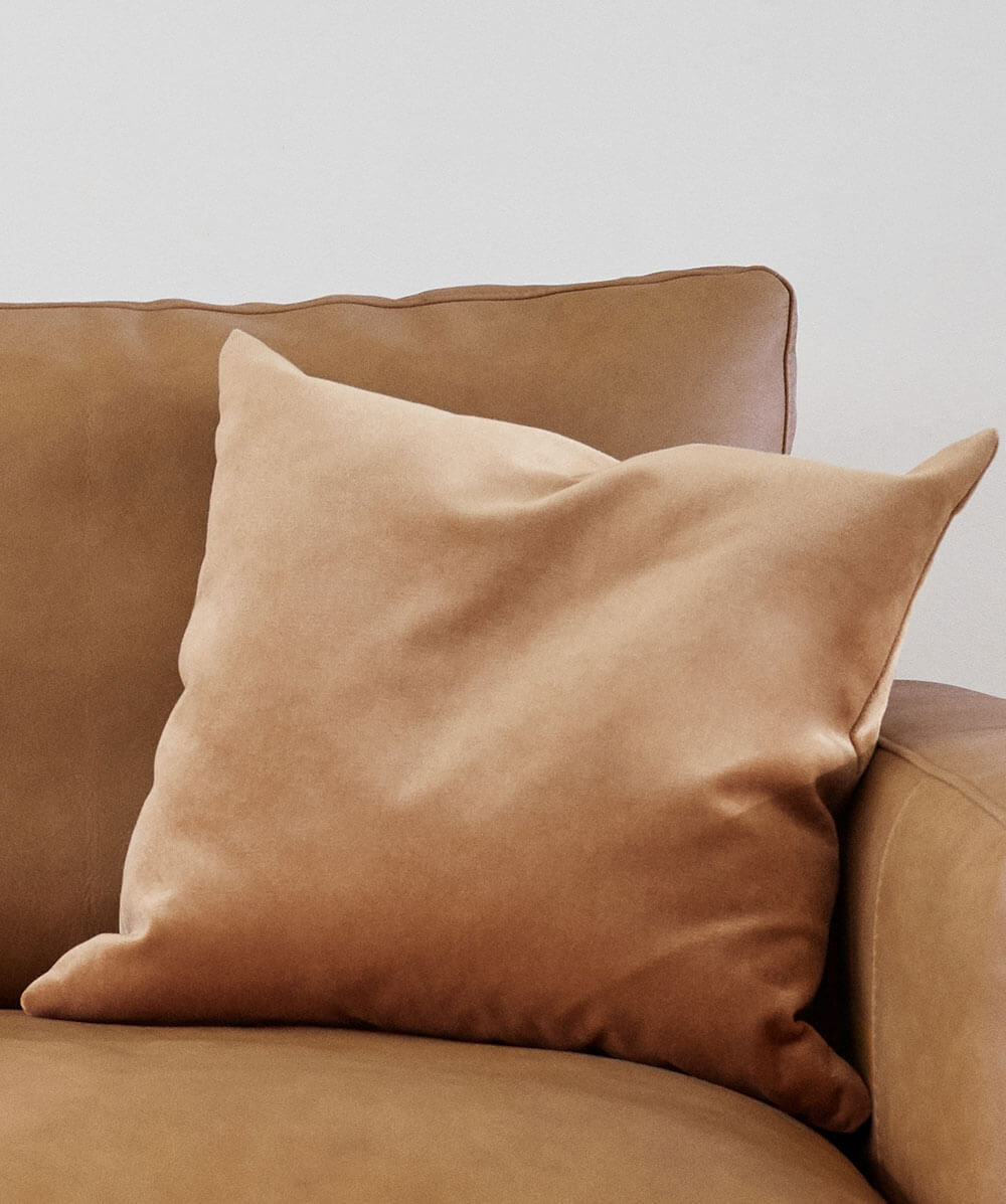 Cognac cushion