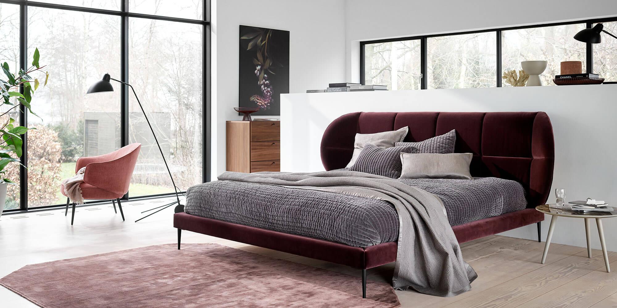 Sensual Bedroom Look Design By Boconcept