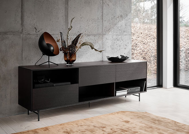 Black Manhattan sideboard