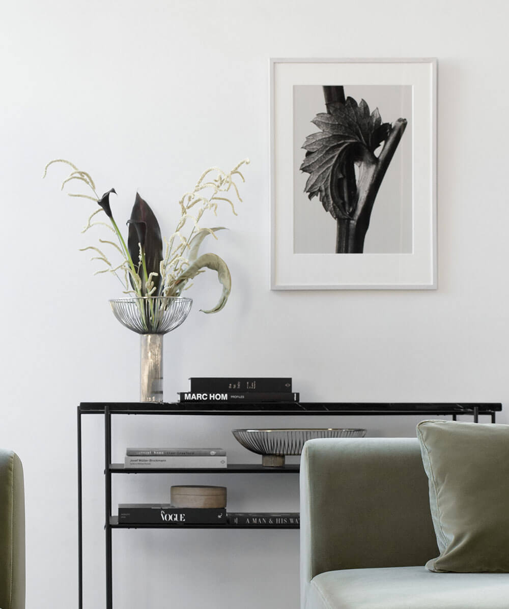 Black Paris console table