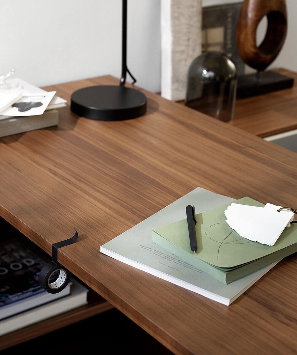 Walnut Copenhagen office desk