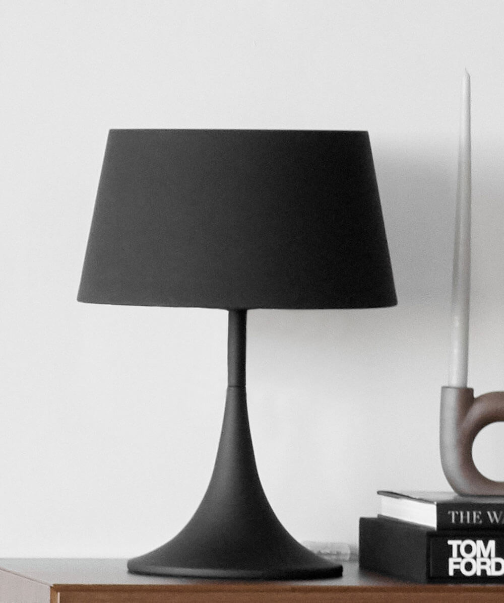 Black Mix table lamp