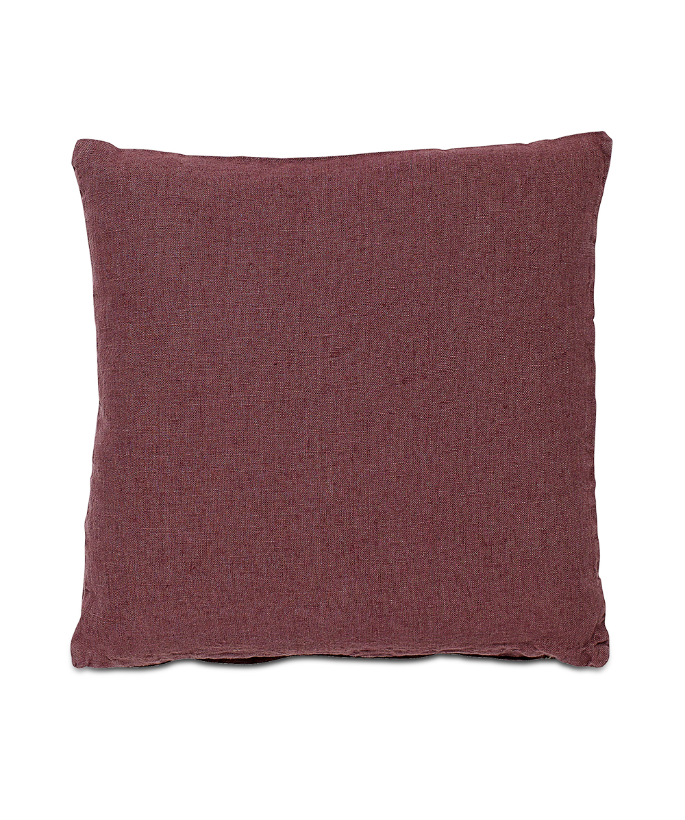 Rustic red cushion