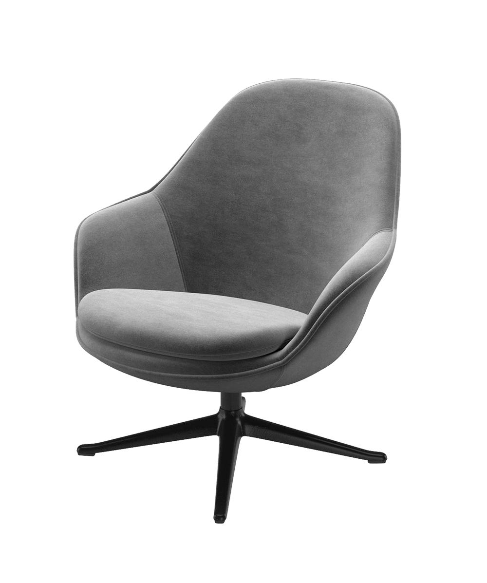 Grey Adelaide chair