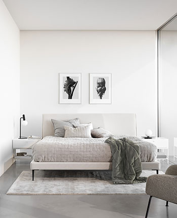 Scandinavian bedroom inspiration