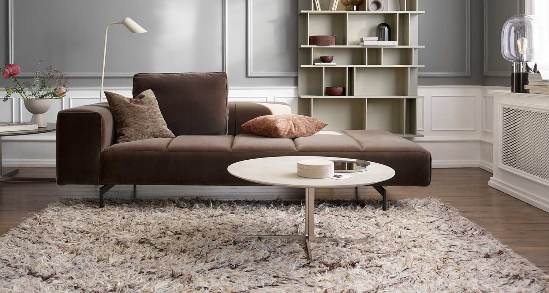 Rectangular designer rug