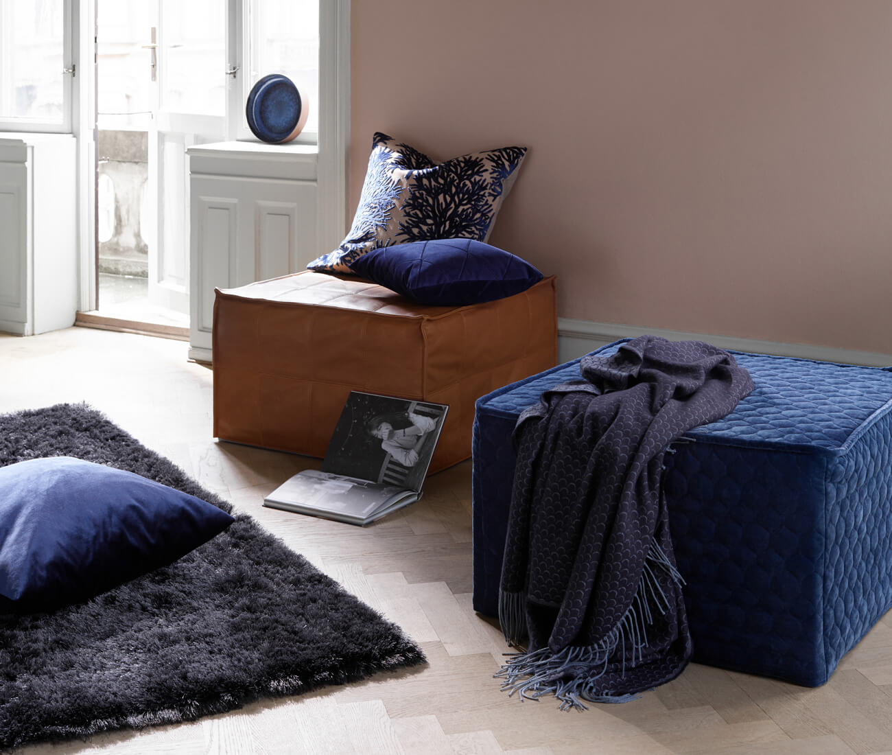 Danish footstool design