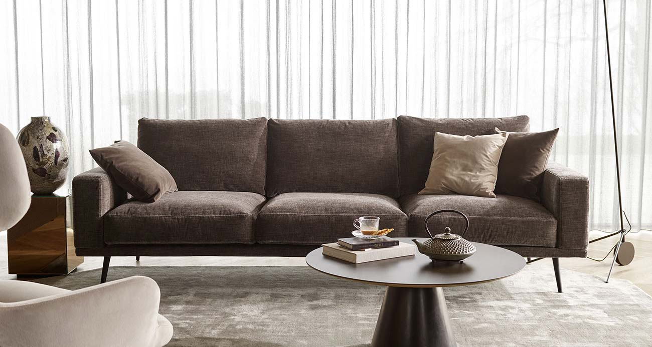Large designer sofa