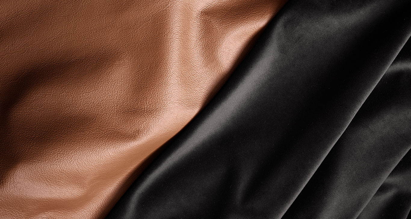 Fabric or leather