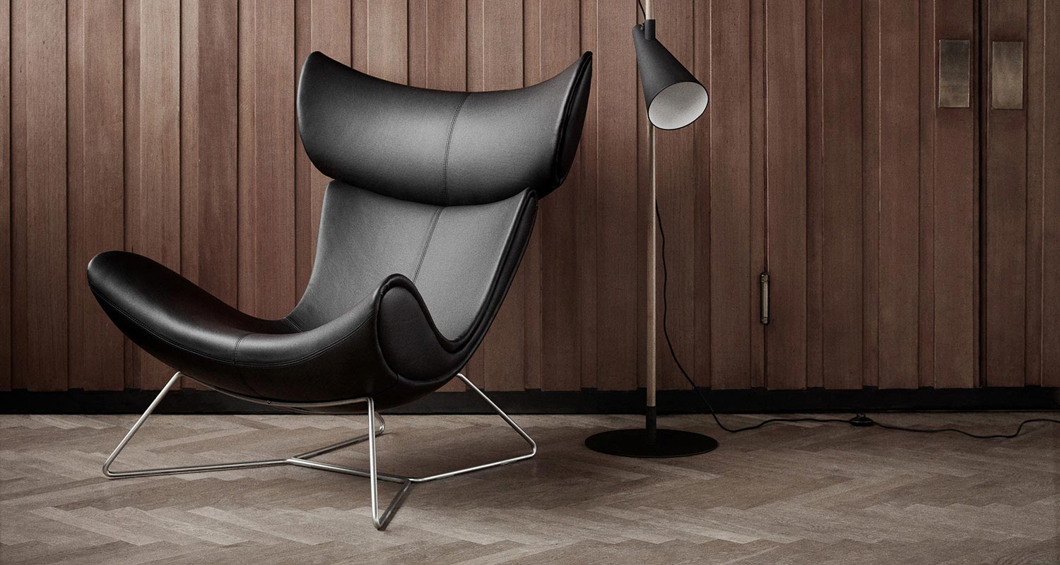 Designer leather chair