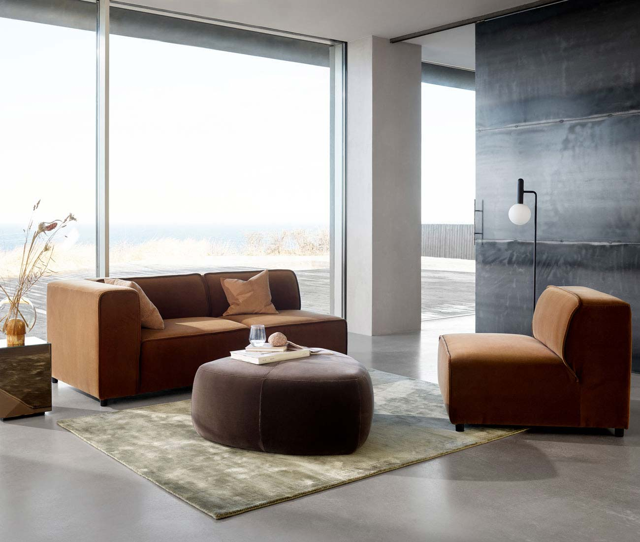 Danish modular sofa design