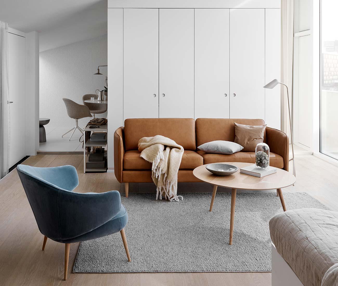 Danish designer 2 seater