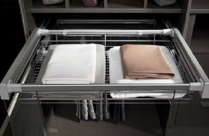 Pull-out storage tray