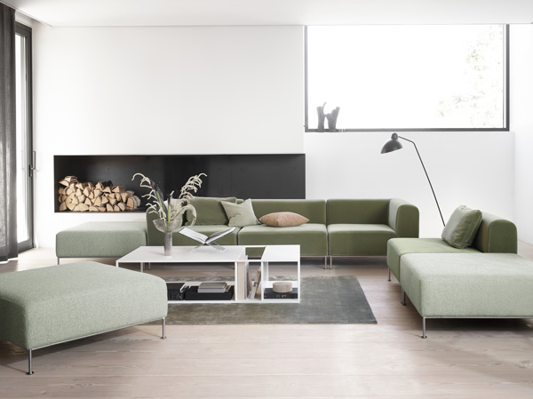 sofá para dormitorio Contemporary Danish Furniture Discover BoConcept