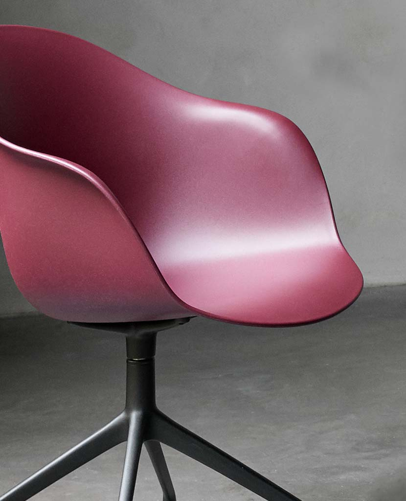 Dusty red Adelaide dining chair