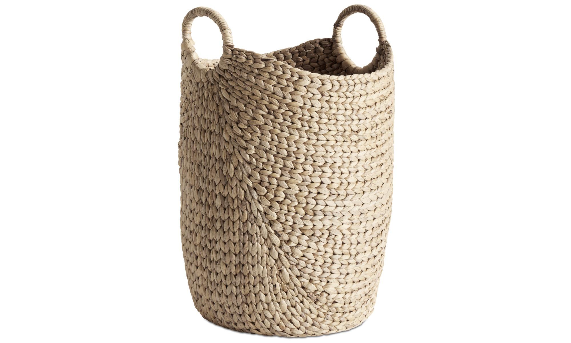 Small furniture - Hey basket - Beige - Glass