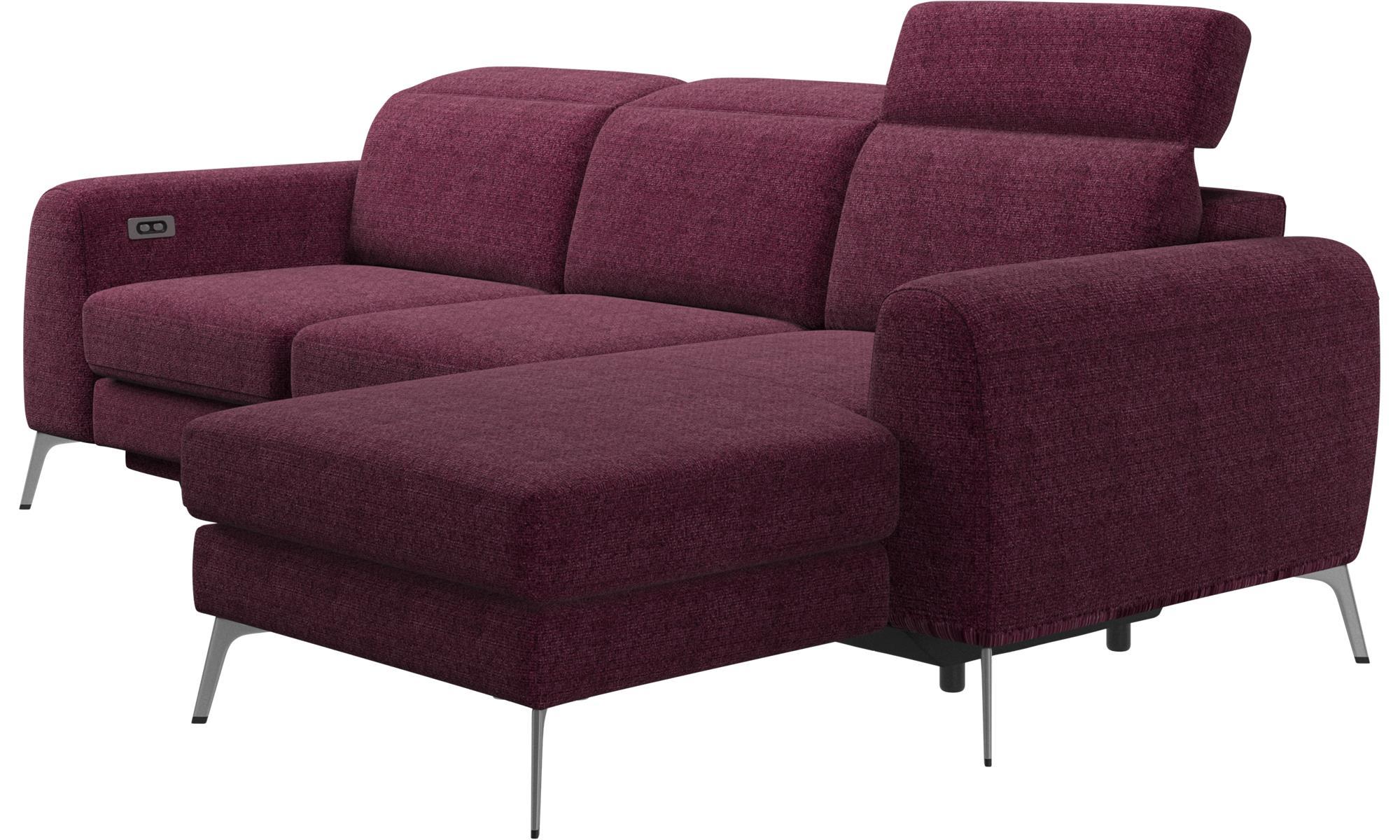 Sof s de 3 plazas sof madison con m dulo chaise longue - Asientos para sofas ...