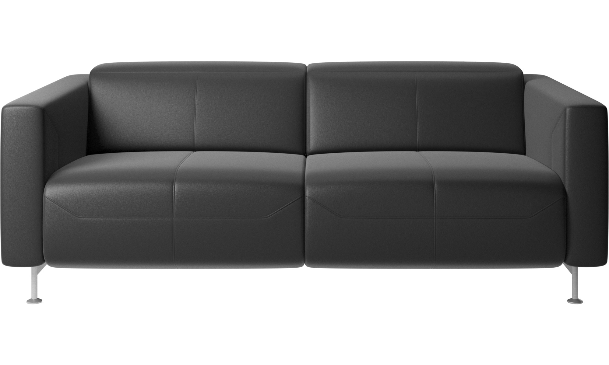 Astounding 2 Seater Sofas Parma Reclining Sofa Boconcept Machost Co Dining Chair Design Ideas Machostcouk