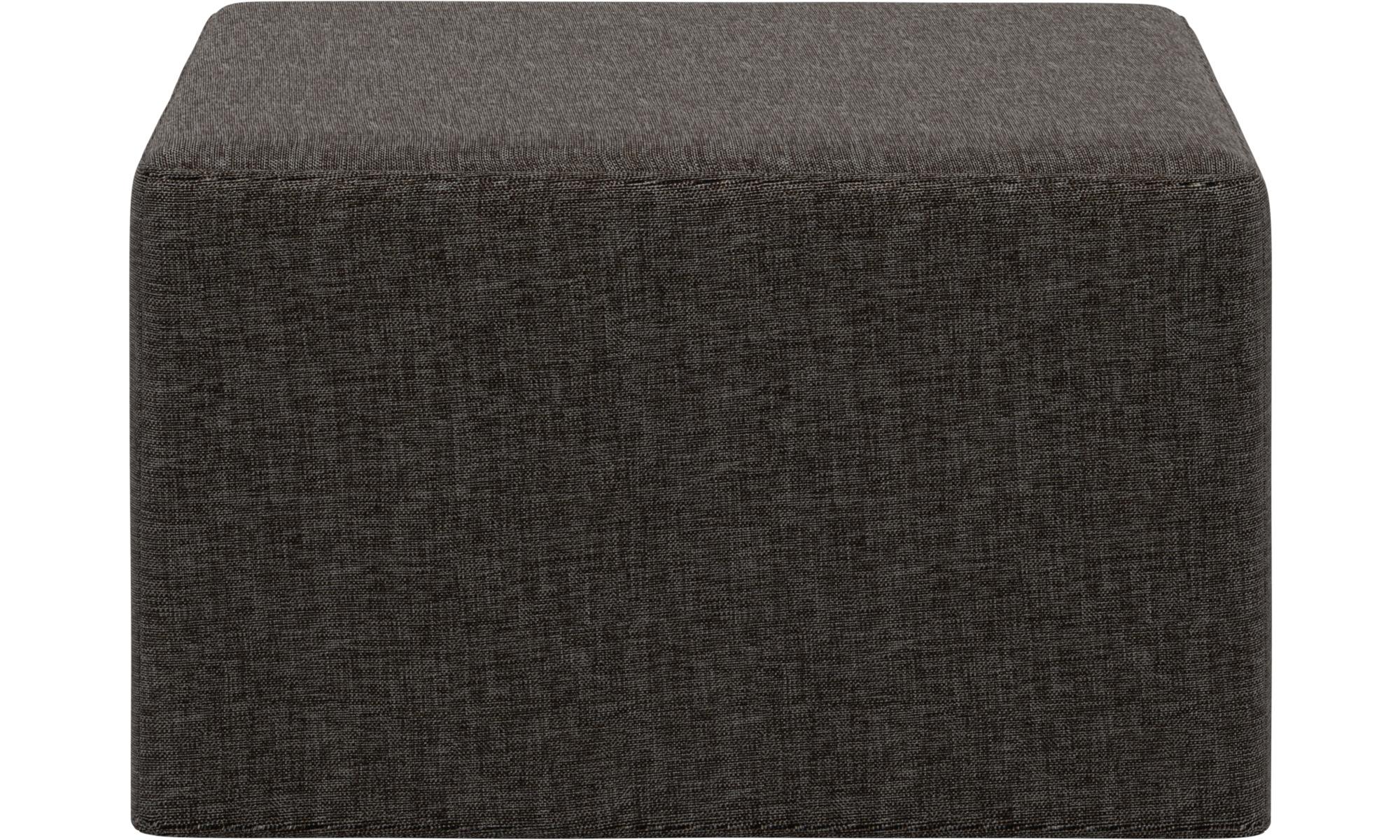Sofy rozkładane - Puf Xtra z funkcją spania - Brązowy - Tkanina