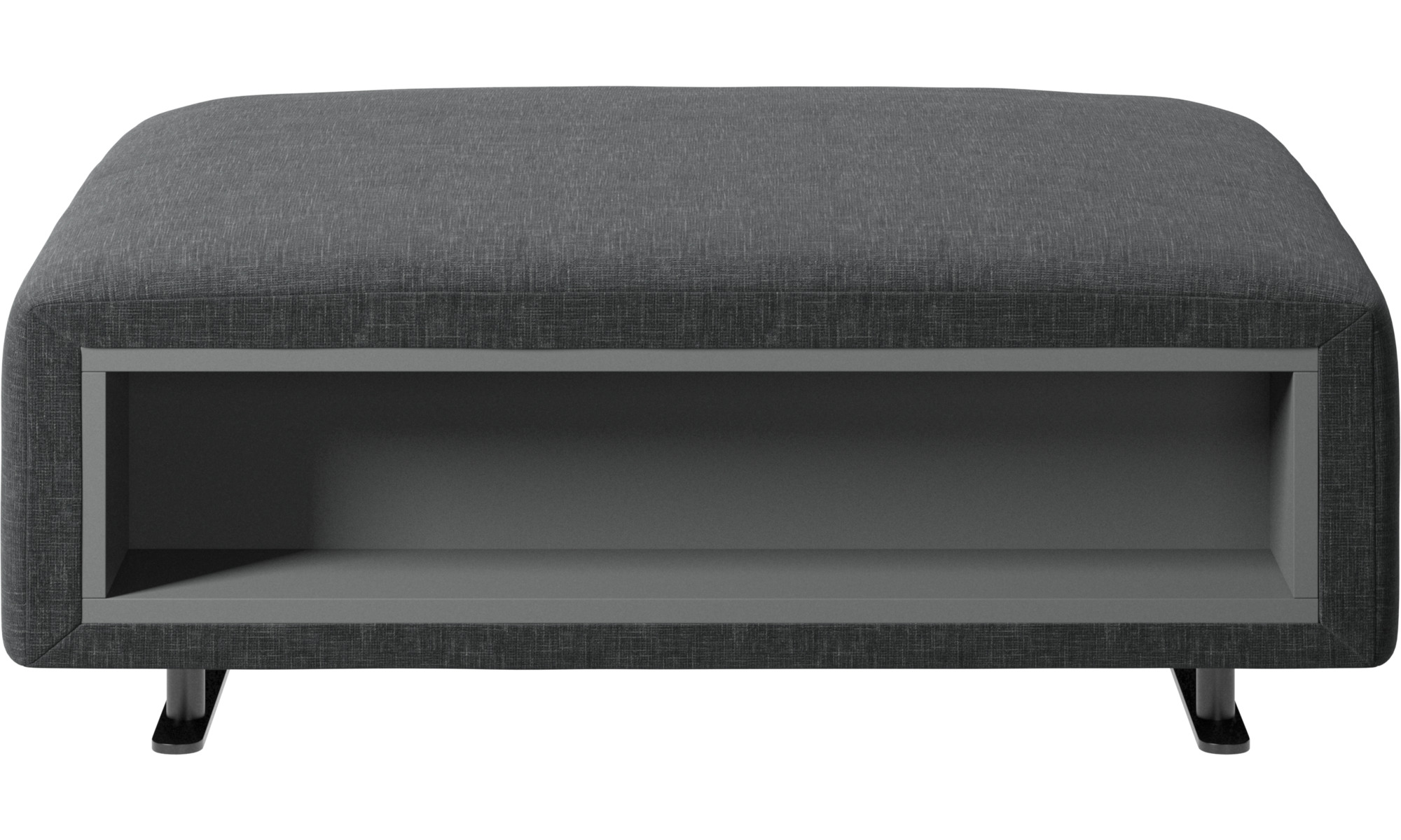 Footstools Hampton Footstool With Storage Left And Right