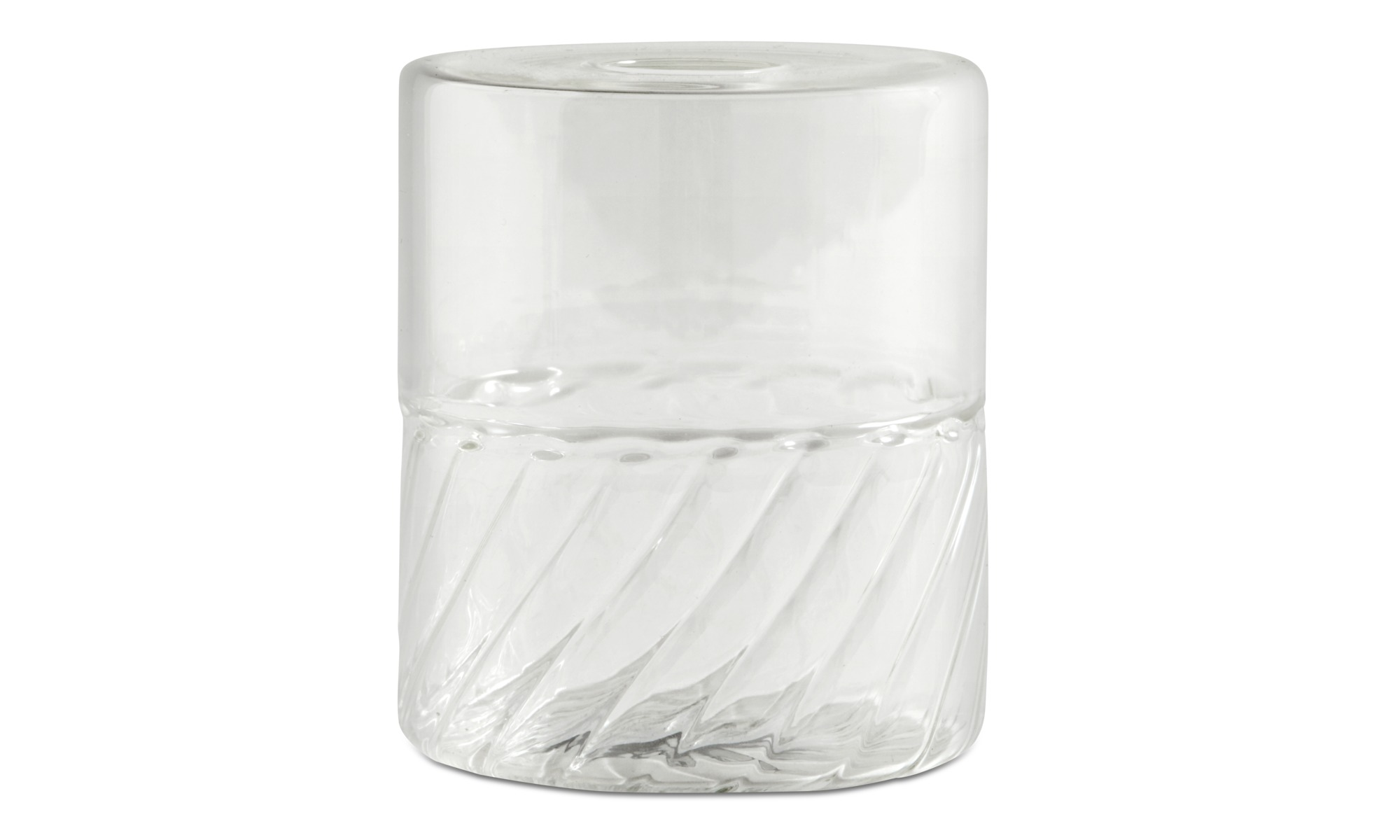 blenko product glass paper chairish vase shaped clear bag