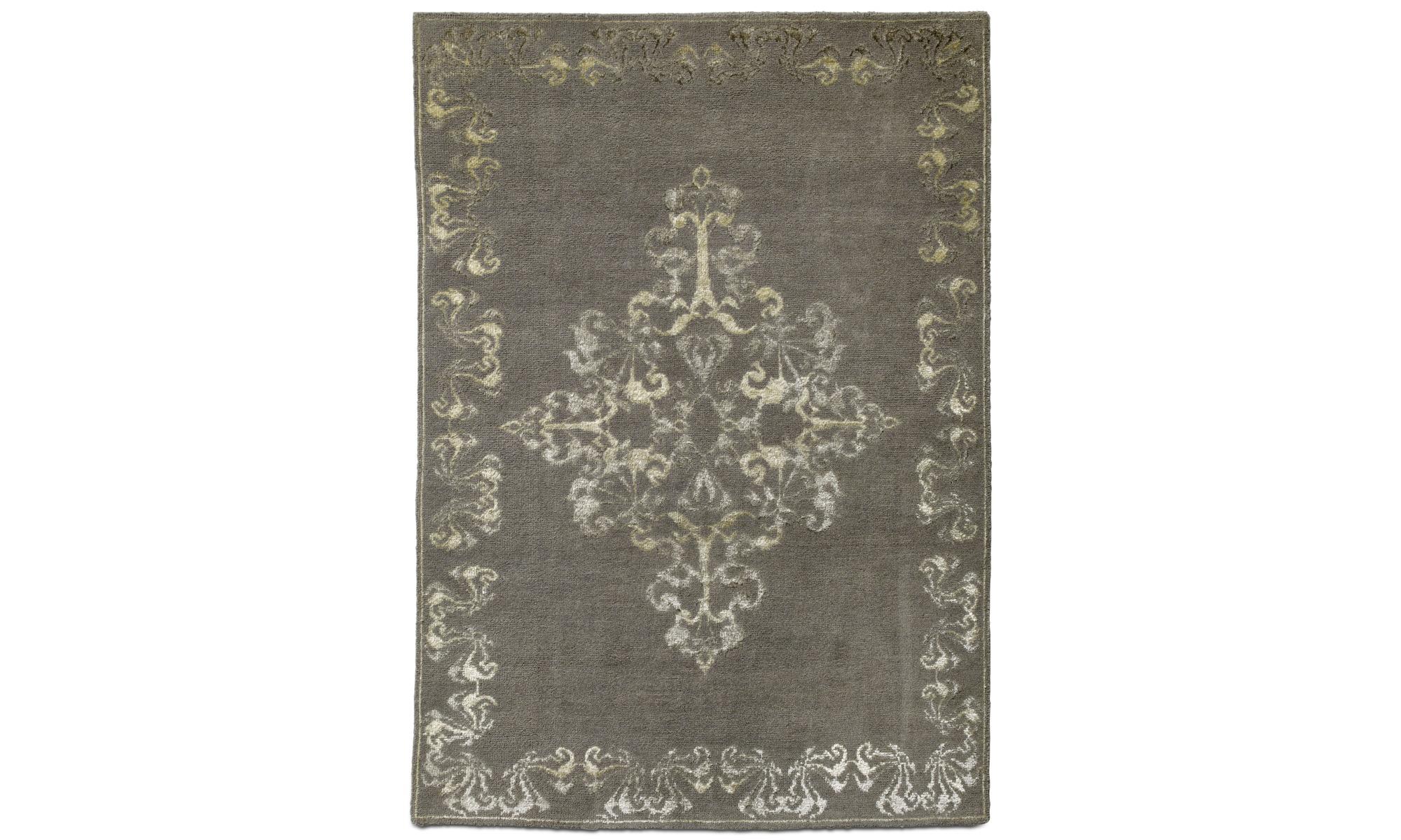 Dywany - Dywan Niska - prostokątny - Szary - Tkanina