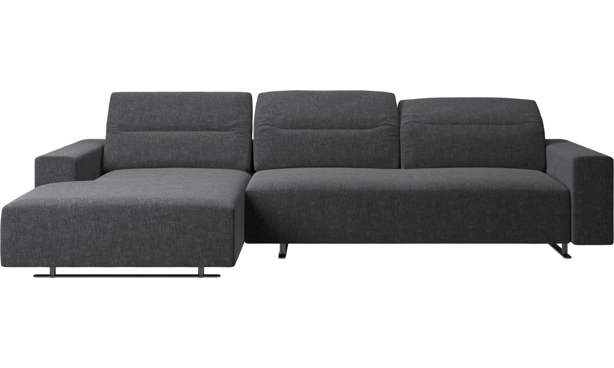 - Chaise Longue Sofas - Hampton Sofa With Adjustable Back And