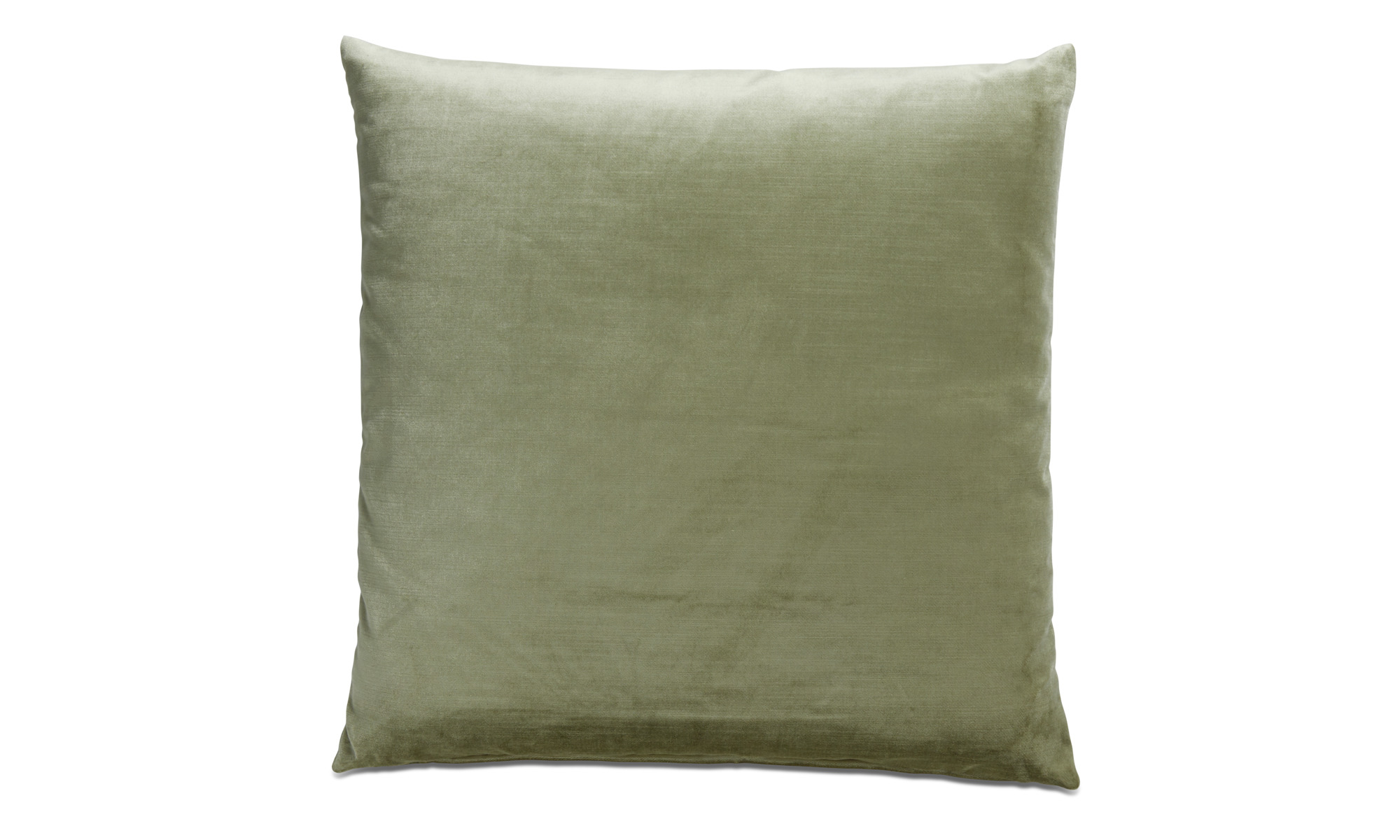 Cushions - Velvet cushion - Green - Fabric