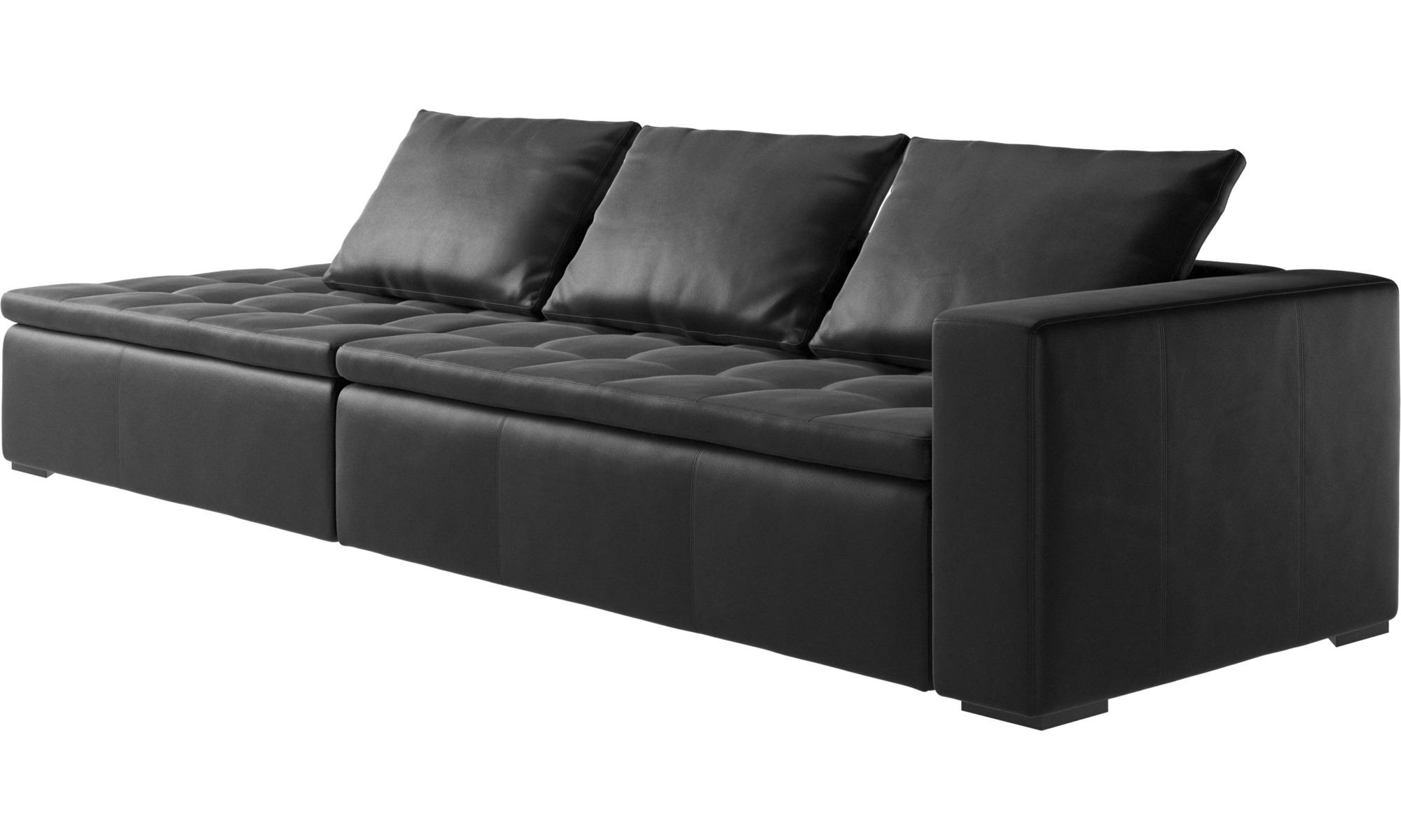 sofa mezzo sofa med loungemodul boconcept. Black Bedroom Furniture Sets. Home Design Ideas