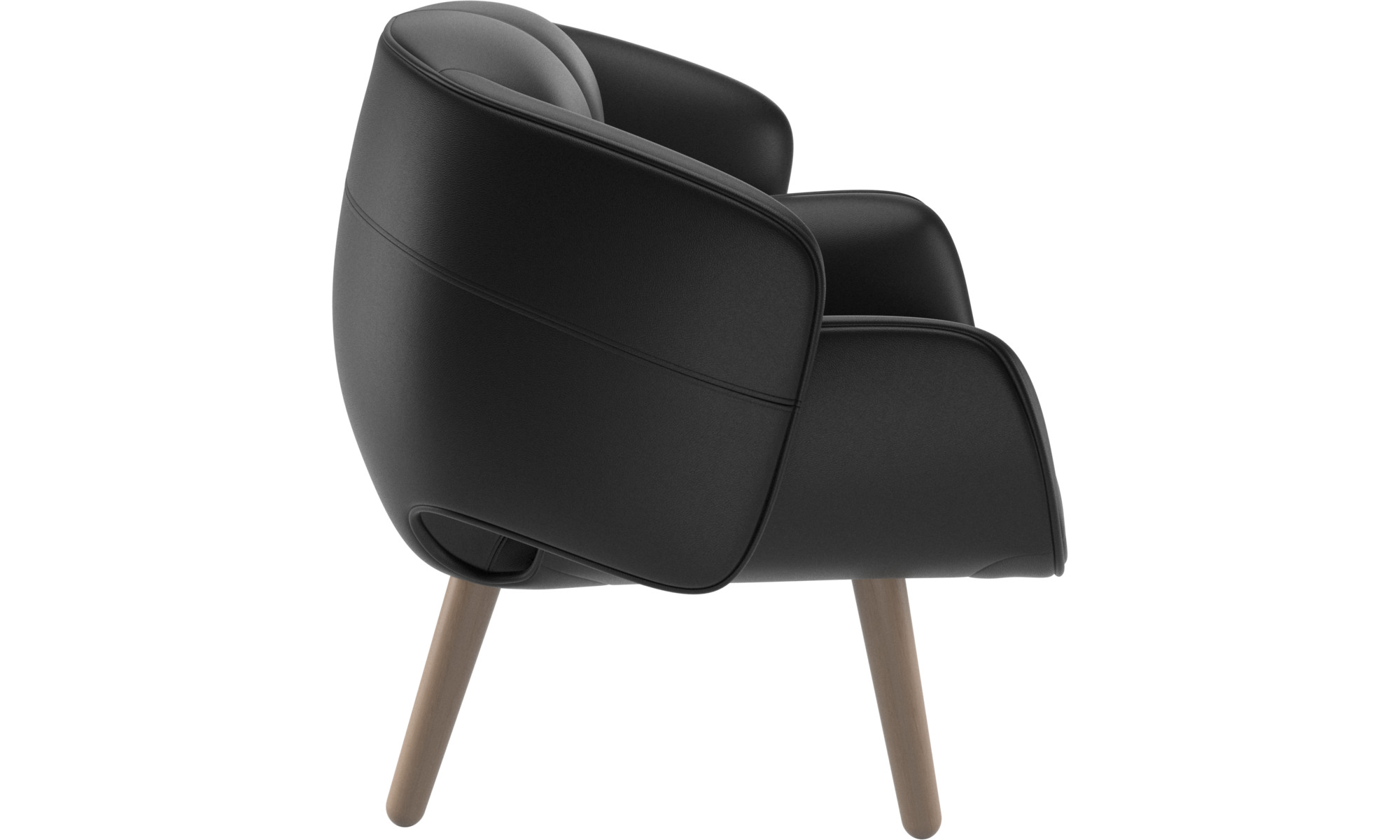 armchairs fusion chair boconcept. Black Bedroom Furniture Sets. Home Design Ideas