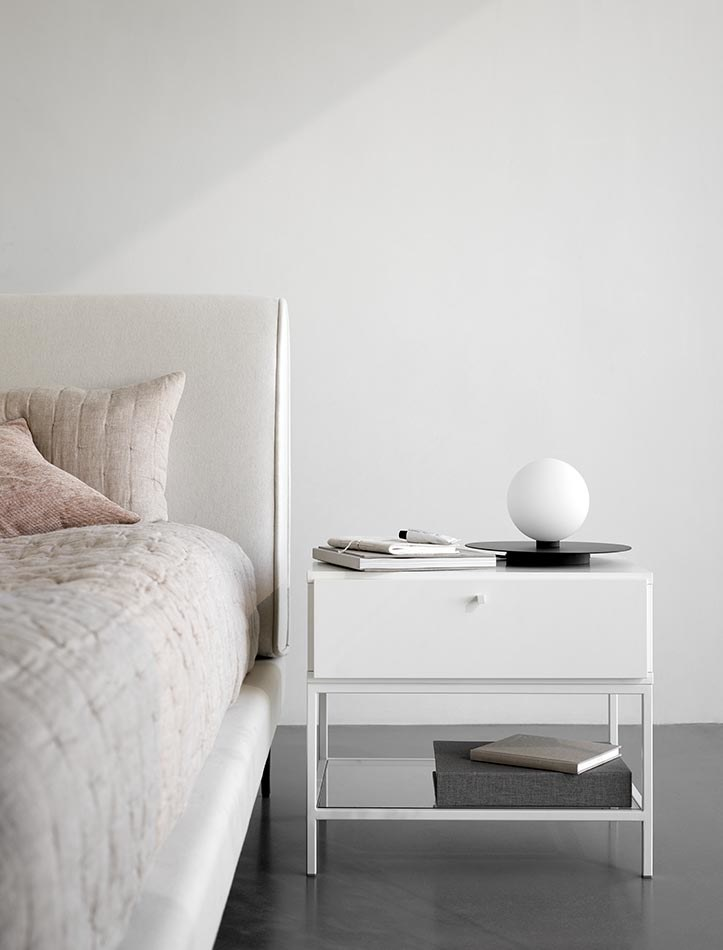 Night stands - Bordeaux night stand