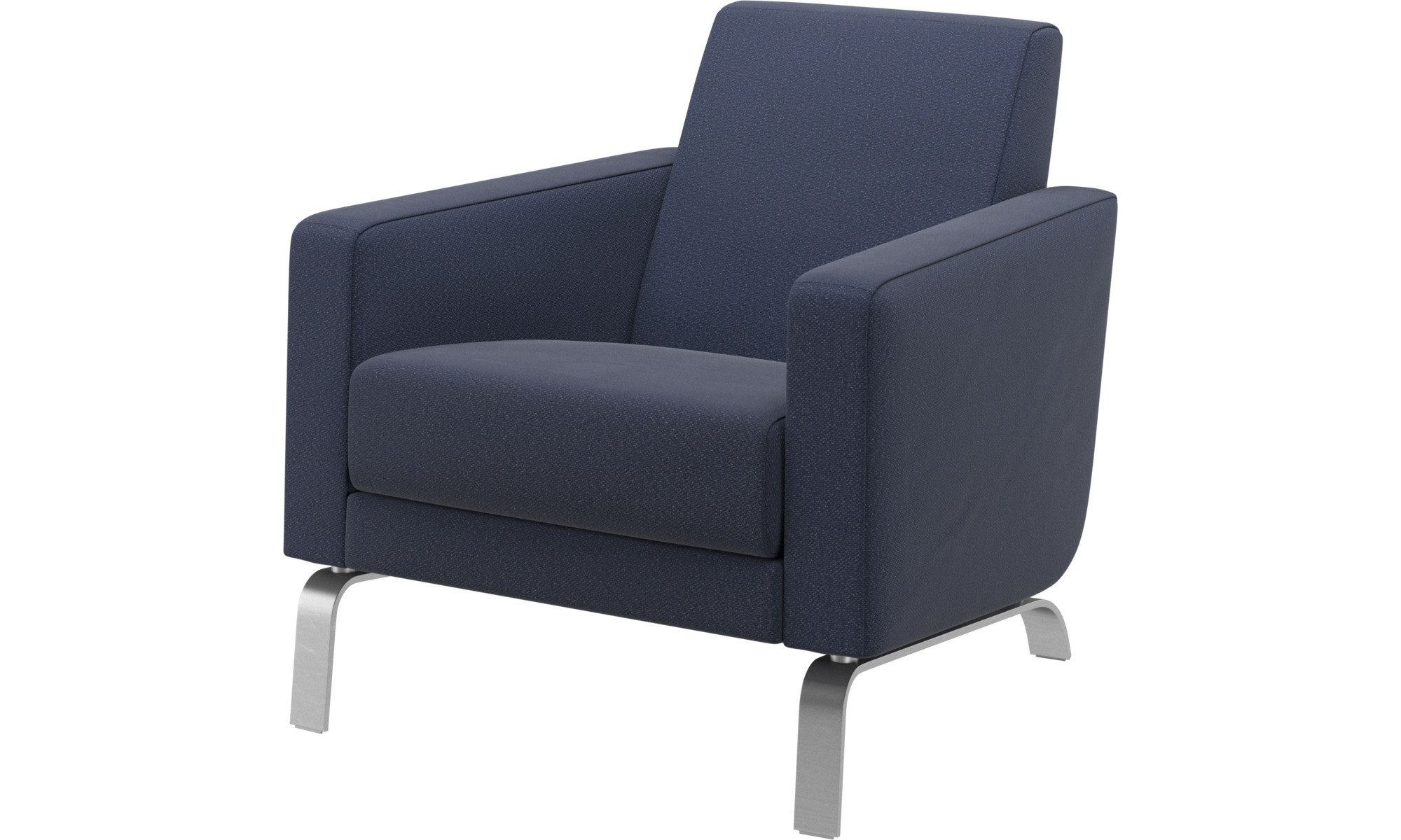 Armchairs - Fly chair - Blue - Fabric
