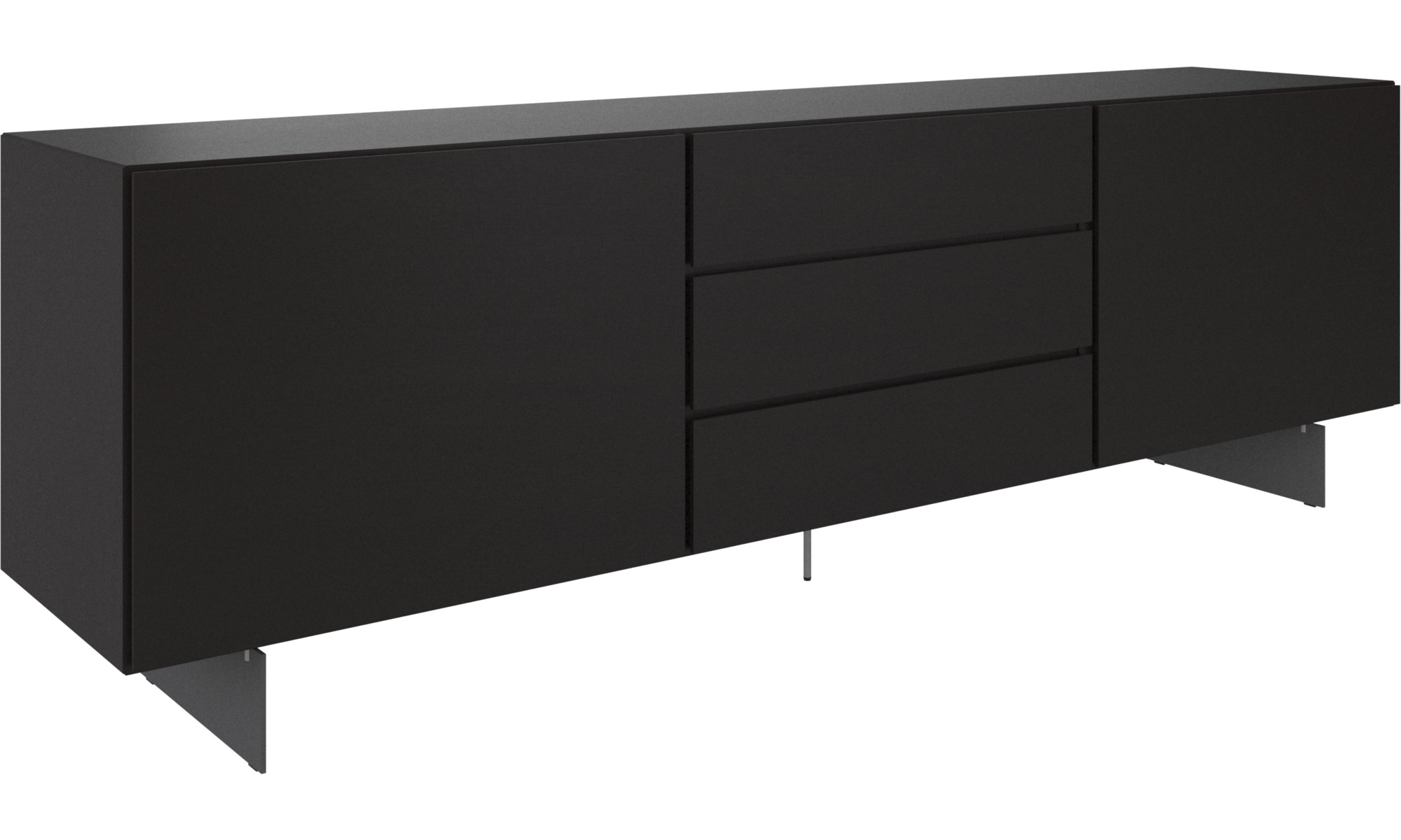 sideboard schwarz cheap kommode anrichte sideboard konsole kernnussrot schwarz neu ve with. Black Bedroom Furniture Sets. Home Design Ideas