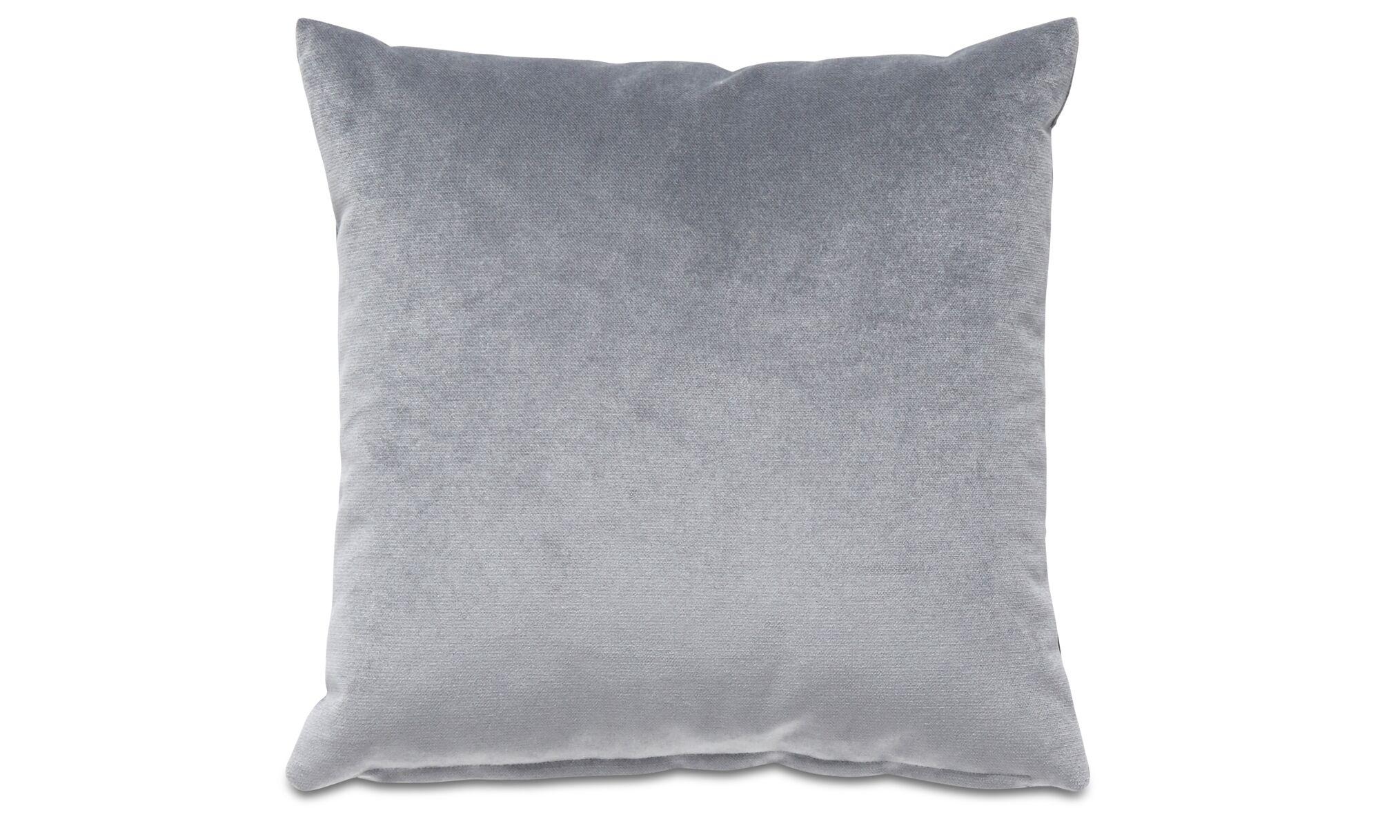 Cushions - Velvet plain cushion - Blue - Fabric