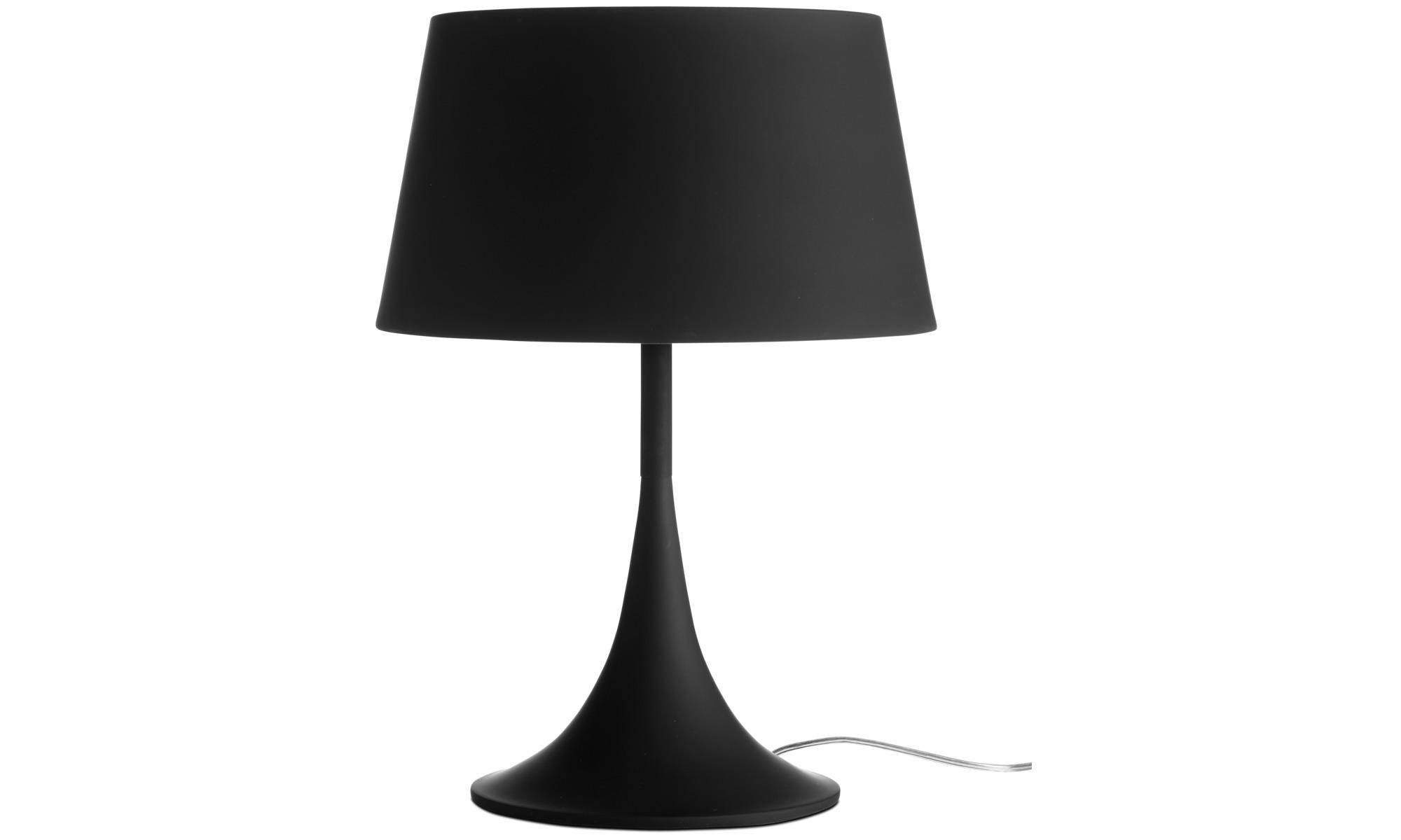 Lampor - Mix bordslampa - Svart - Metall