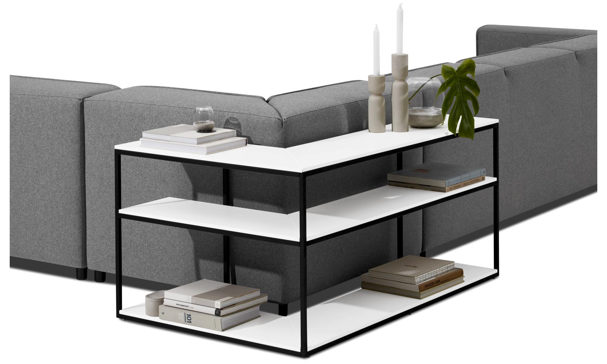 hyllsystem bordeaux konsolbord boconcept. Black Bedroom Furniture Sets. Home Design Ideas